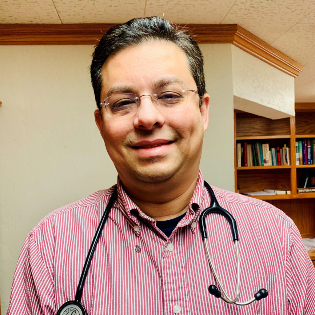 The Face of Karnik Clinic, Dr. Ashutosh Karnik.